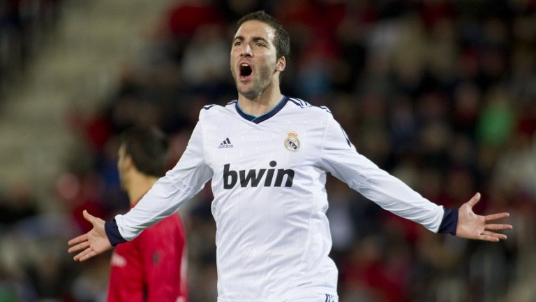 Higuaín Real Madrid
