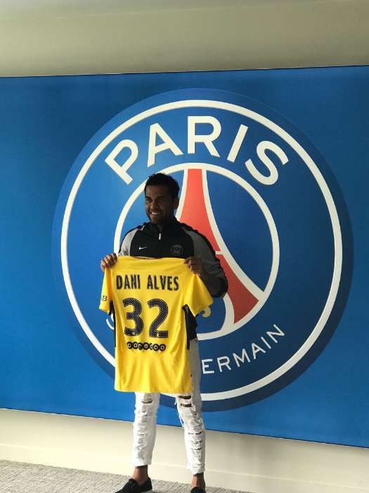 Daniel Alves no PSG
