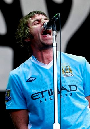 Liam Gallagher - Manchester City