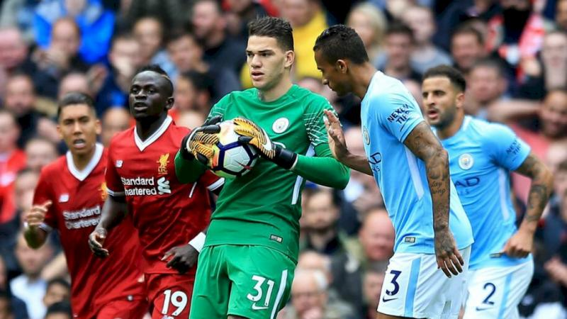 Ederson - Manchester City x Liverpool