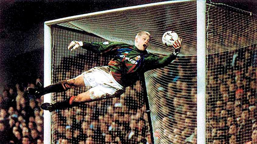 Peter Schmeichel - United x Rapid Vienna - 1996