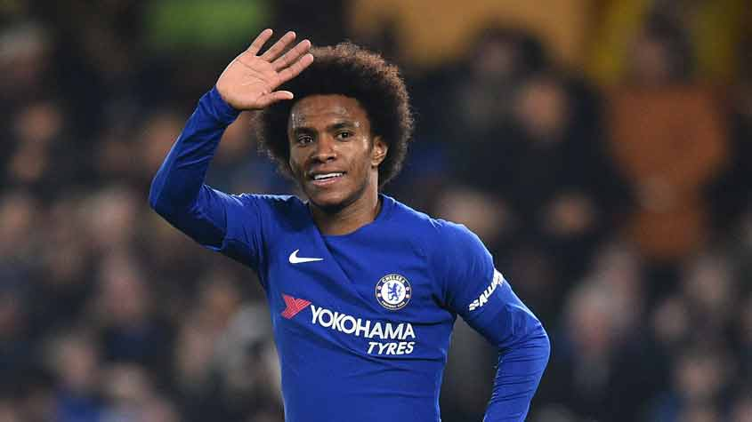 Willian - Chelsea x Bournemouth