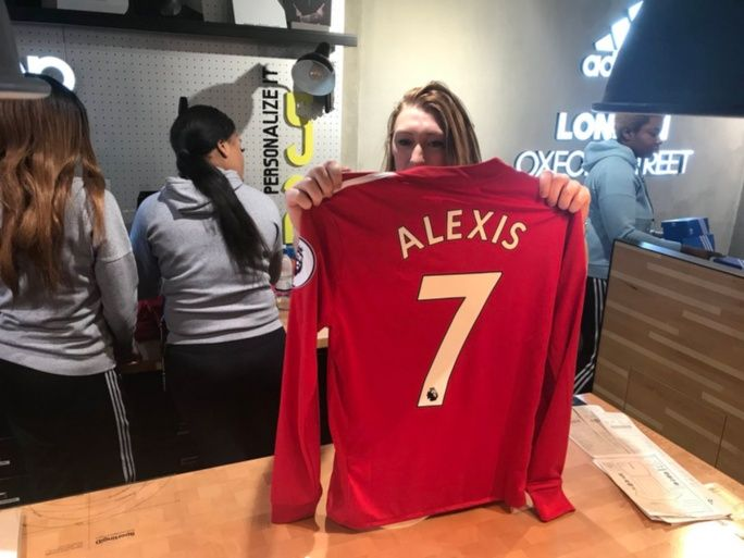Camisa Alexis Sánchez - Manchester United
