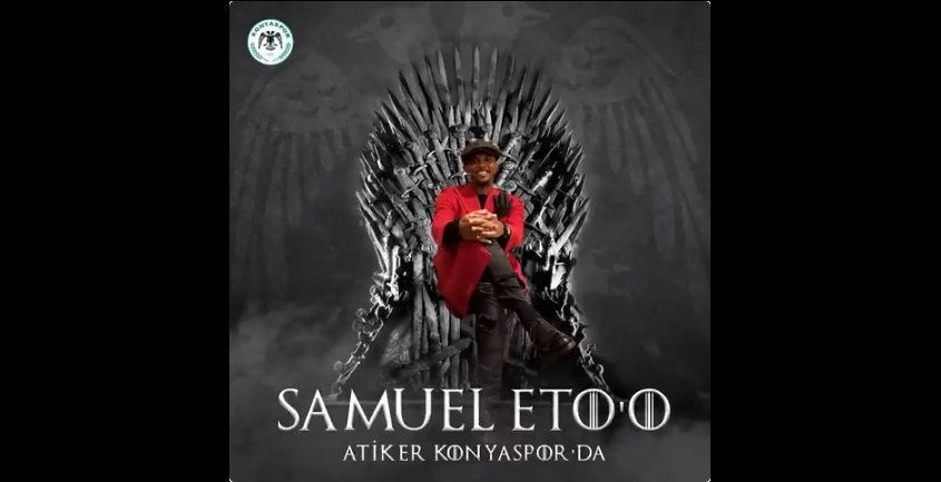 Eto'o - Game Of Thrones