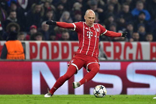 Robben - Bayern de Munique x Besiktas