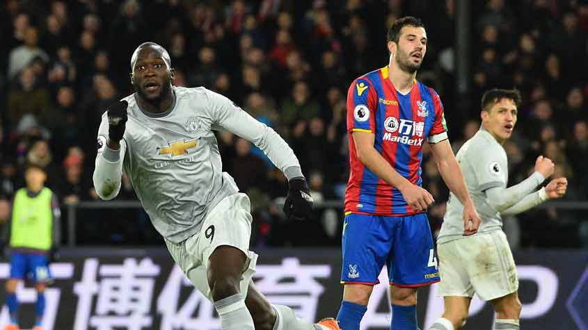 Crystal Palace x Manchester United