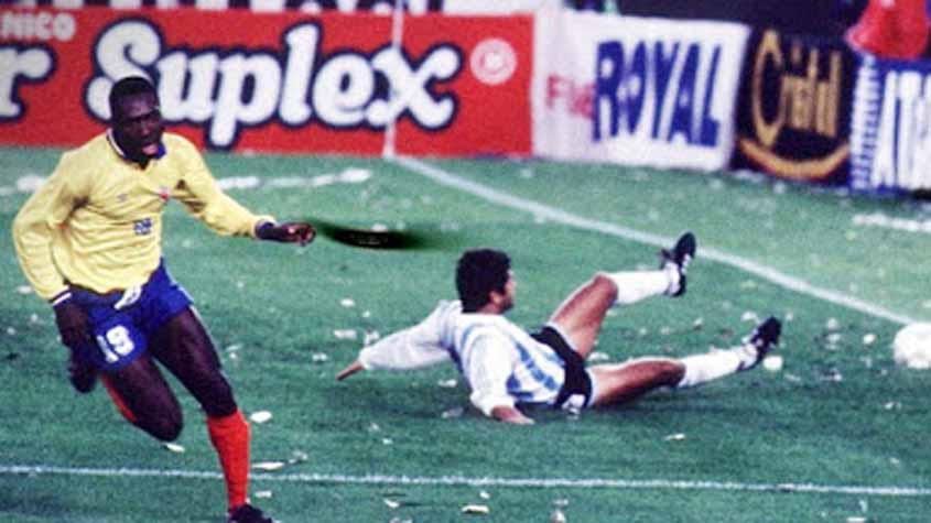 Argentina 0 x 5 Colombia  - Eliminatorias para a Copa do Mundo de 1993