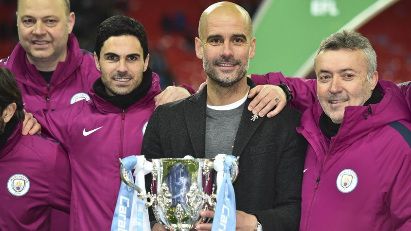 Copa da Liga Inglesa (Man City) Guardiola