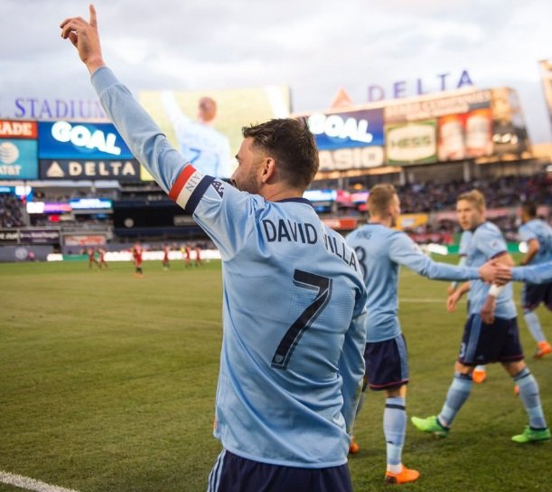 David Villa - New York City