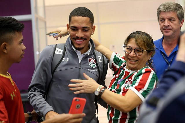 Gilberto - Desembarque do Fluminense
