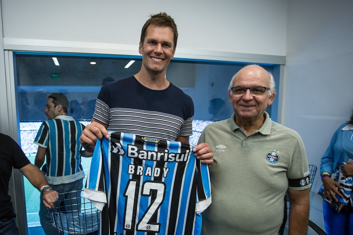 Tom Brady na Arena do Grêmio