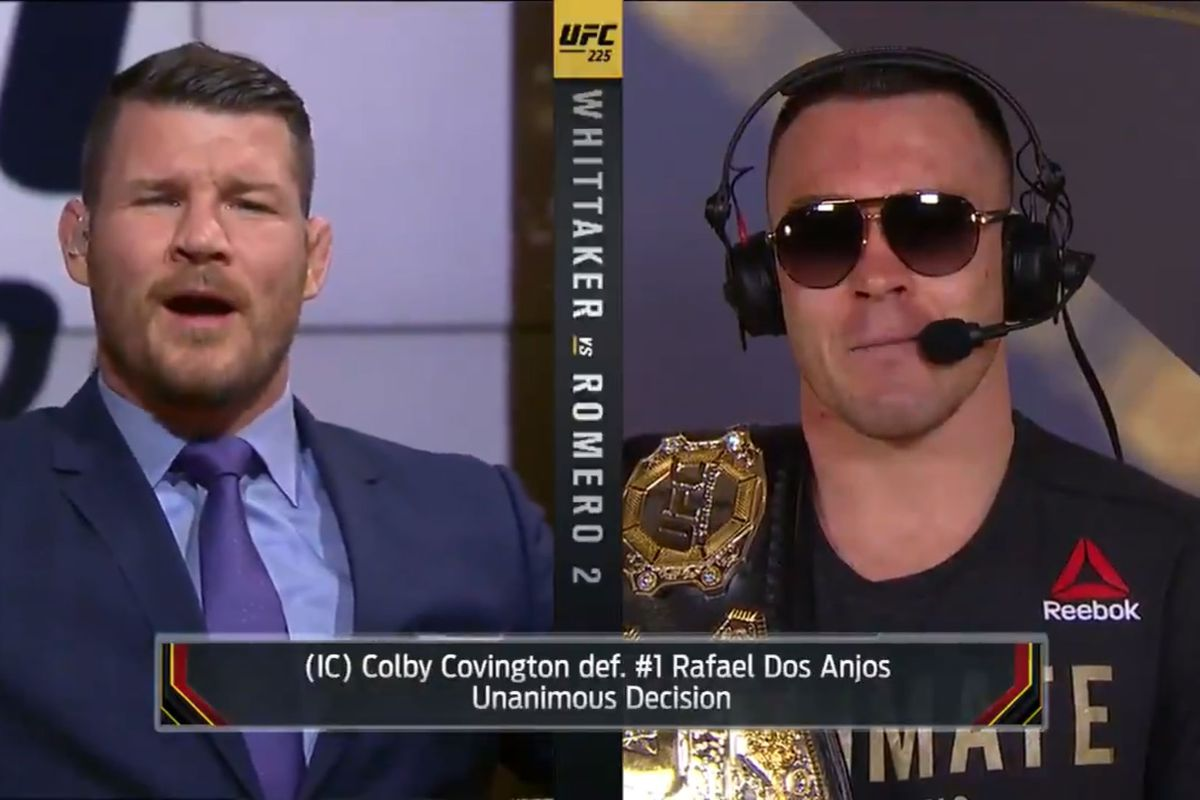 Bisping x Colby