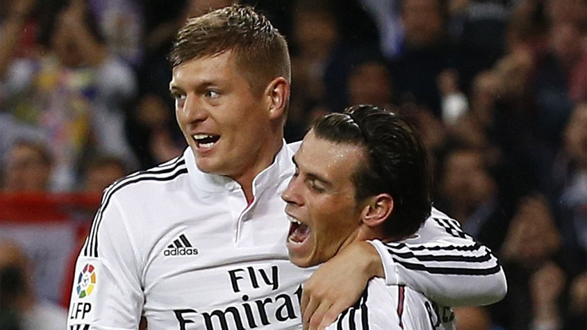 Bale e Kroos - Real Madrid