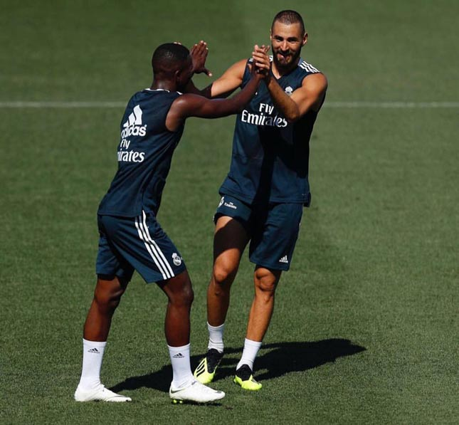 Vinicius Junior e Benzema - Real Madrid