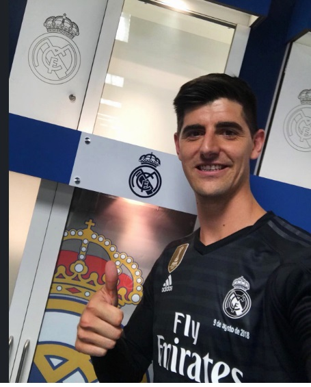 Courtois no Real Madrid