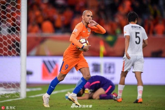 Diego Tardelli no Shandong Luneng