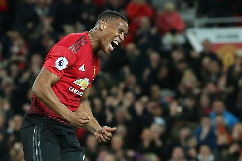 Manchester United x Newcastle - Martial
