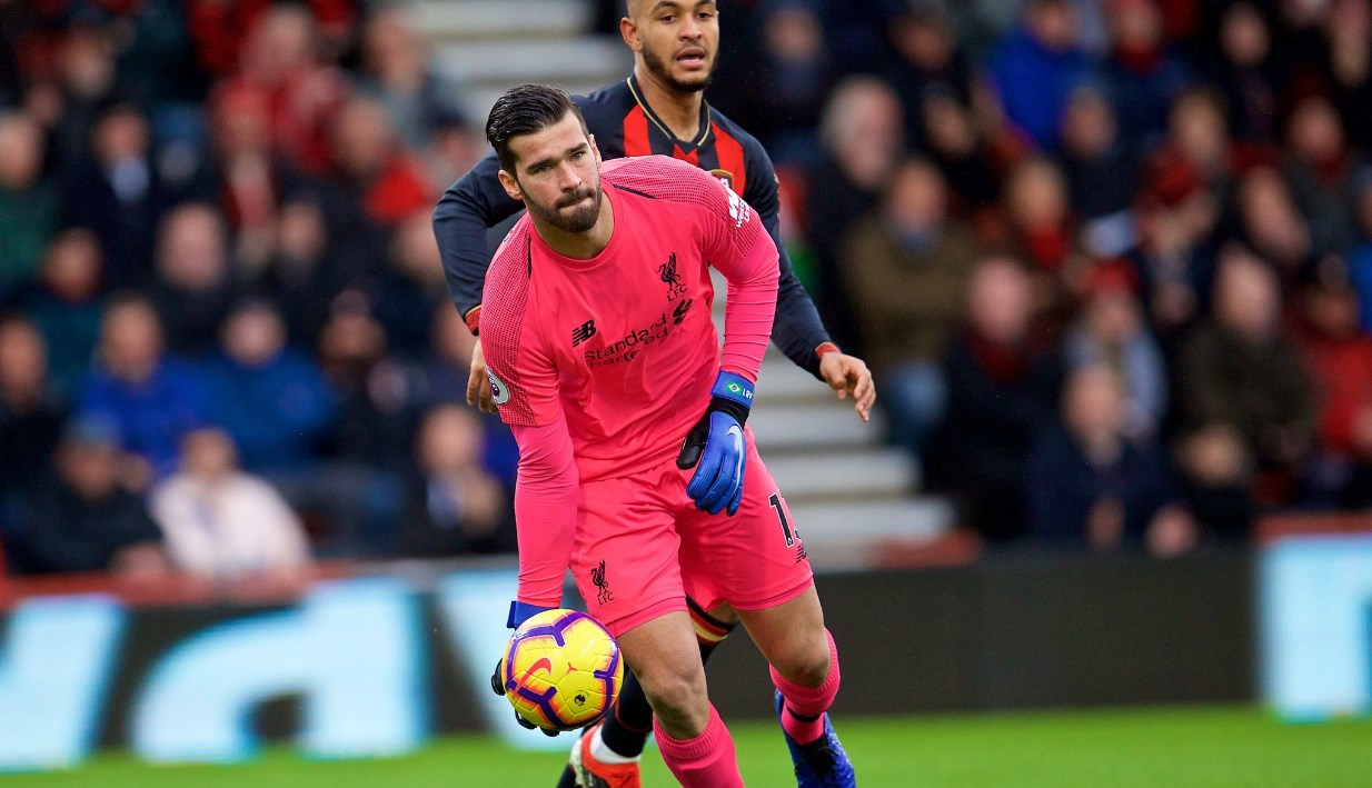 Alisson vs Bournemouth