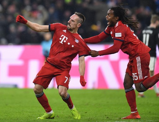 Ribéry e Renato Sanches - Bayern de Munique x RB Leipzig
