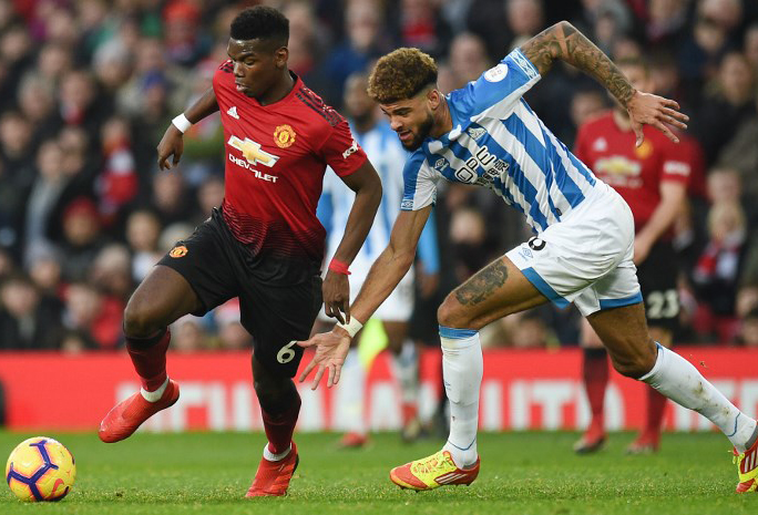 Manchester United x Huddersfield