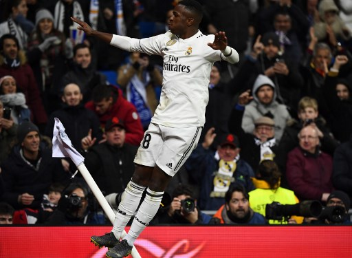 Vinicius Junior - Real Madrid x Alavés