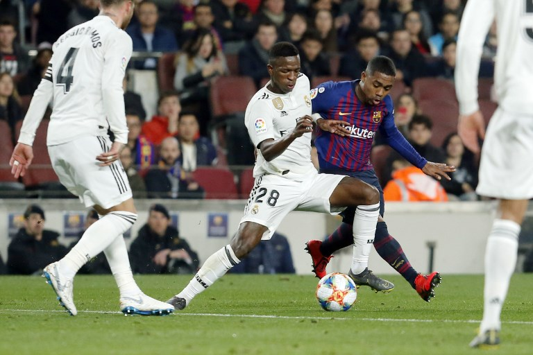 Vinicius Jr e Malcom - Barcelona x Real Madrid