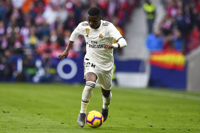 Vinicius Junior - Atletico de Madrid X Real Madrid