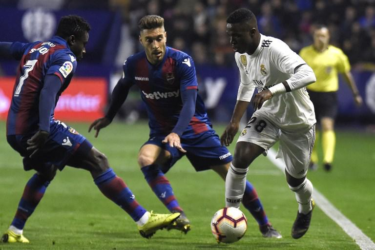 Real Madrid x Levante - Vinicius Junior