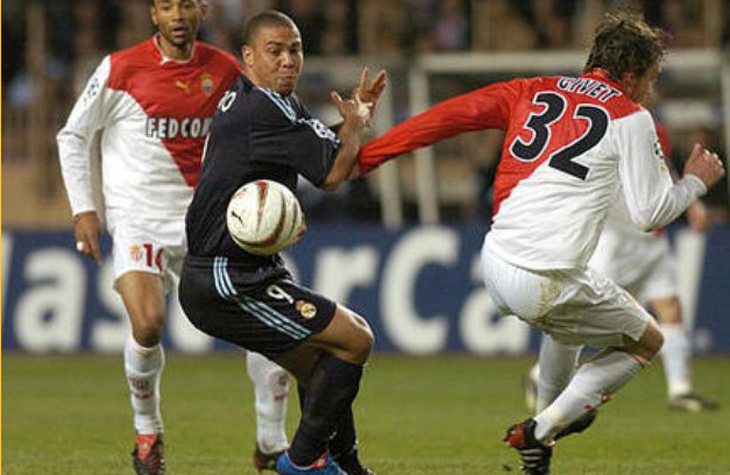 Monaco x Real Madrid ( Quartas de Final, 2003/2004)