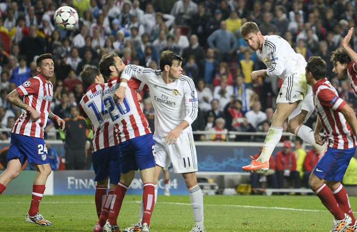 Real Madrid x Atlético de Madrid (Final 2013/2014)