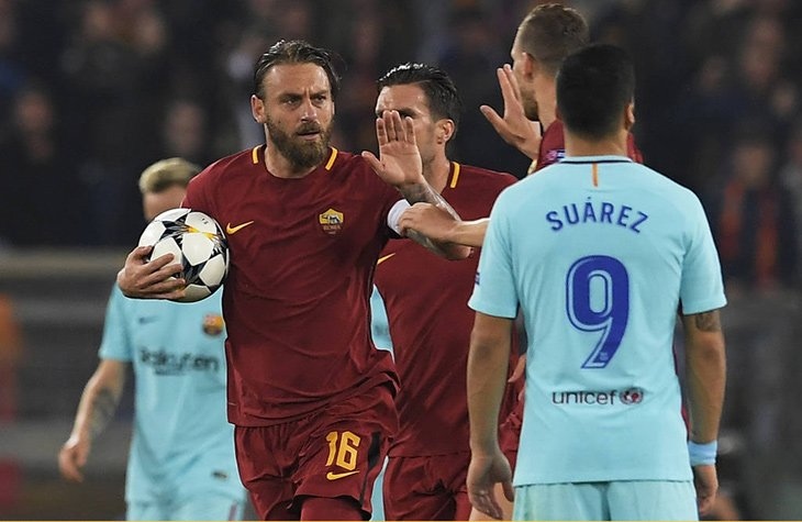 Roma x Barcelona (Quartas de Final, 2017/18)