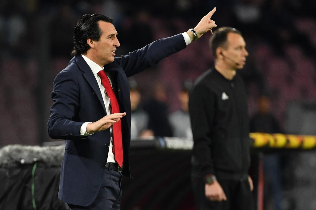 Unai Emery - Napoli x Arsenal