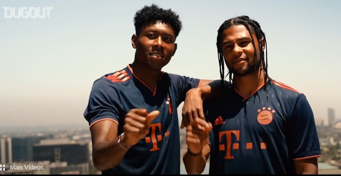 Terceiro uniforme do Bayern de Munique