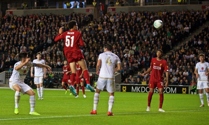 MK Dons x Liverpool
