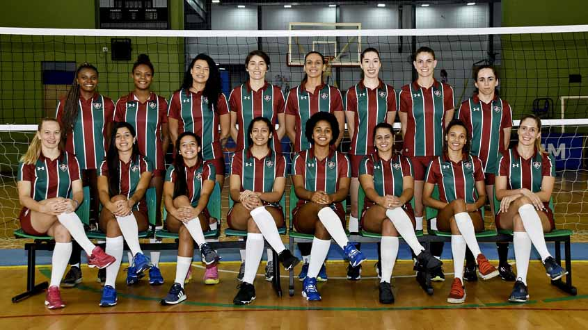 Fluminense pronto para a disputa da Superliga Feminina 2019/2020